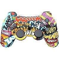 Manette de Jeu Sans Fil avec Double Vibration Pour Sony PS3 Playstation 3 (Édition Sixaxis)