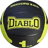 DIABLO Premium Quality Rubber Medicine Balls (1KG, 2KG, 3KG, 4KG, 5KG, 6KG, 7KG, 8KG, 9KG, 10KG, Multicolors)