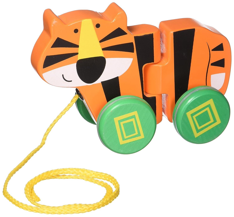 Imaginarium Wooden Tiger Pull Toy