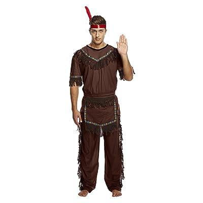 Henbrandt - Disfraz de india para hombre (U36109): Juguetes y juegos