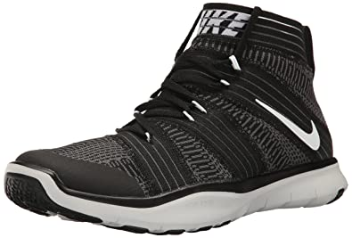 55966497890f7 Nike Mens Free Train Virtue Training Shoes Black White Dark Grey 898052-001