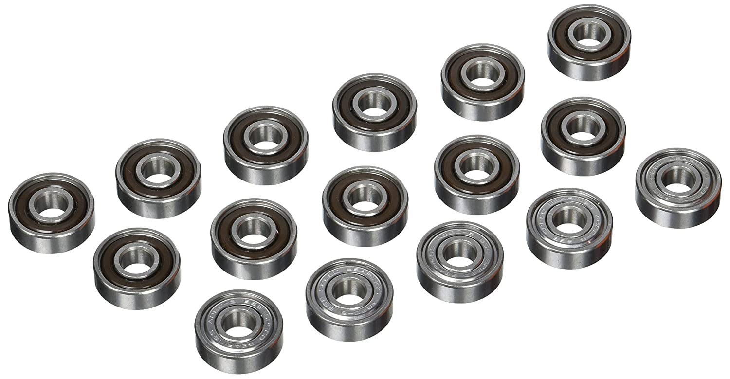 72900 One Size BSB Bearings Abec 9 Pack of 16 Multi