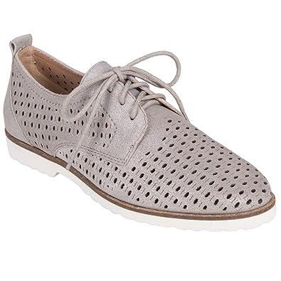2e4a50c15ad1 Earth Shoes Camino Women s Silver 5 Medium US