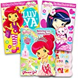 Amazon.com: Strawberry Shortcake Coloring Book ~ 96 Pages: Toys & Games