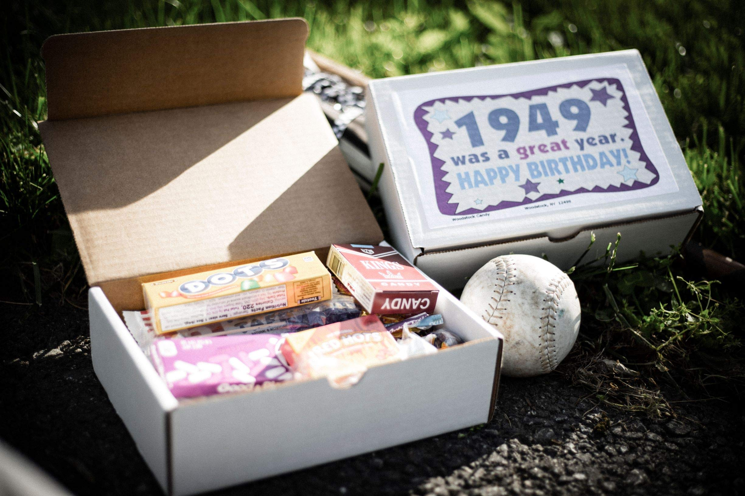 Woodstock Candy ~ 70th Birthday Gift Box of Retro Vintage Candy Assortment from Childhood for 70 Year Old Men and Women Born 1949 - Great Idea for Mom or Dad - Jr by Woodstock Candy (Image #4)