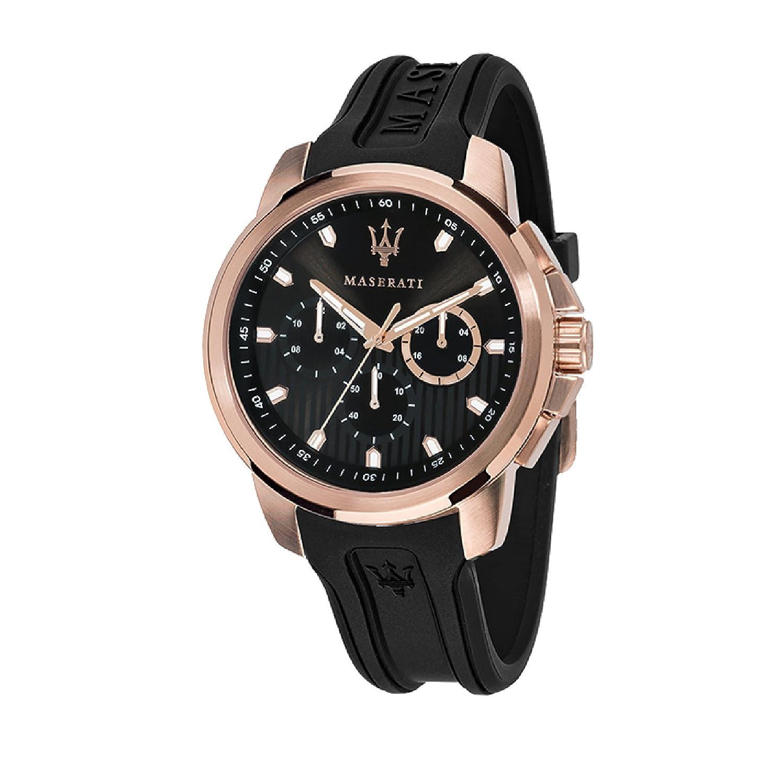 MASERATI Reloj Analógico para Hombre de Cuarzo con Correa en Silicona R8851123008: Amazon.es: Relojes