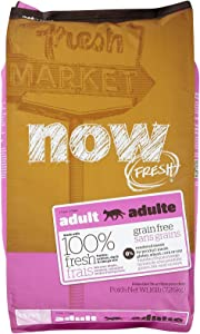 Now! 152320 Fresh Grain Free Food For Adult Cats, 16-Pound Bag