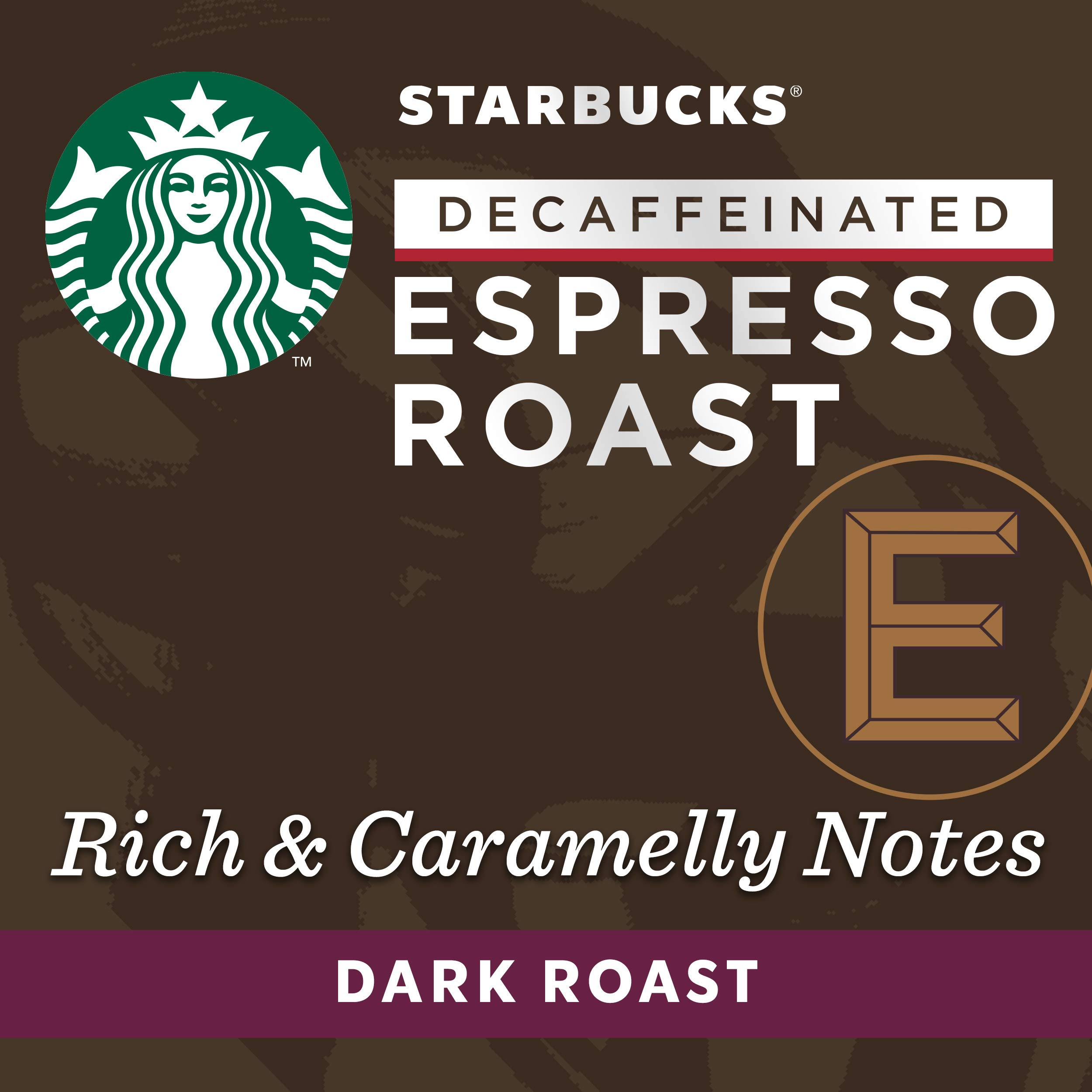 Starbucks by Nespresso, Decaf Espresso Dark Roast (50-count single serve capsules, compatible with Nespresso Original Line System) by Starbucks for Nespresso (Image #3)