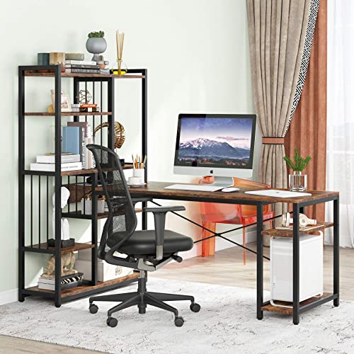 Tribesigns 67 Inches Large Computer Desk