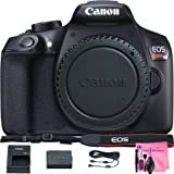 Canon EOS Rebel T6 Digital SLR Camera (Body, Black) with Canon Accessories Camera & Camera Works Complete Camera Cleaning Solution