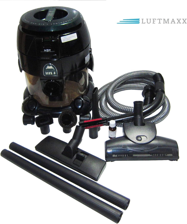 Sistema de limpieza de aire y habitación (con agua) NST con boquilla turbo Hyla, incluye 1 aceite de fragancia Luftmaxx: Amazon.es: Hogar