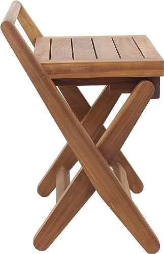 AquaTeak Spa Mantis Folding Teak Chair