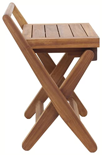 AquaTeak Spa Mantis Folding Teak Chair