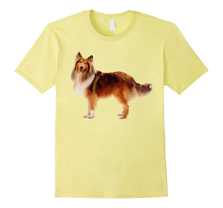 Rough Collie Cute T shirt For Men, Women