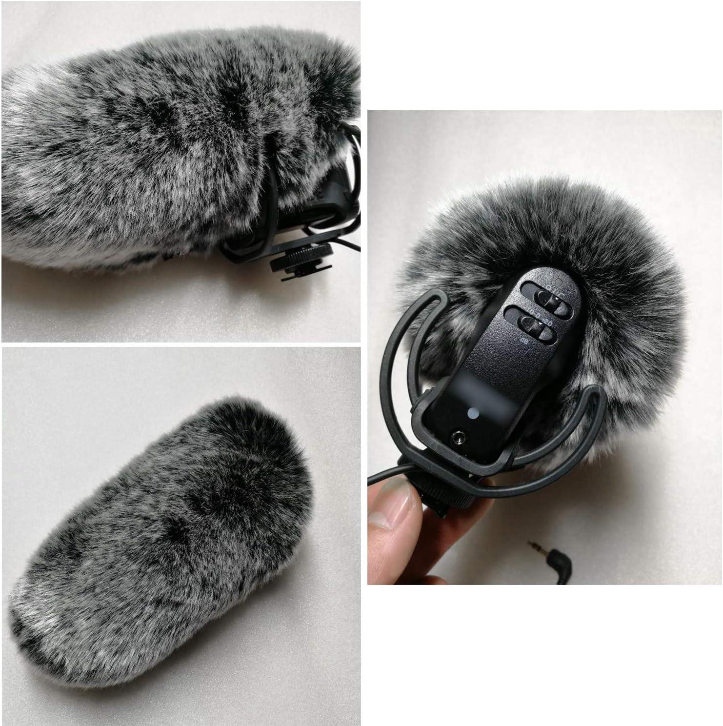 Camera Microphone 2 Pack Foam /& Furry Wind Muff for Rode Videomic Pro Mic Deadcat Wind Shield /& Foam windscreen YOUSHARES Videomic Pro