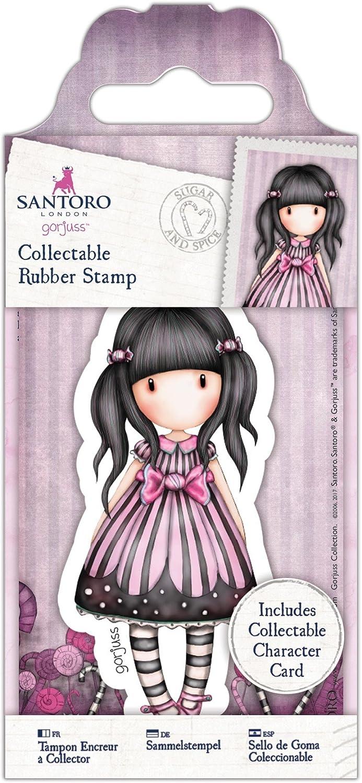 Docrafts Gor 907144 Santoros Gorjuss Collectable Rubber Stamp No 45 Fly