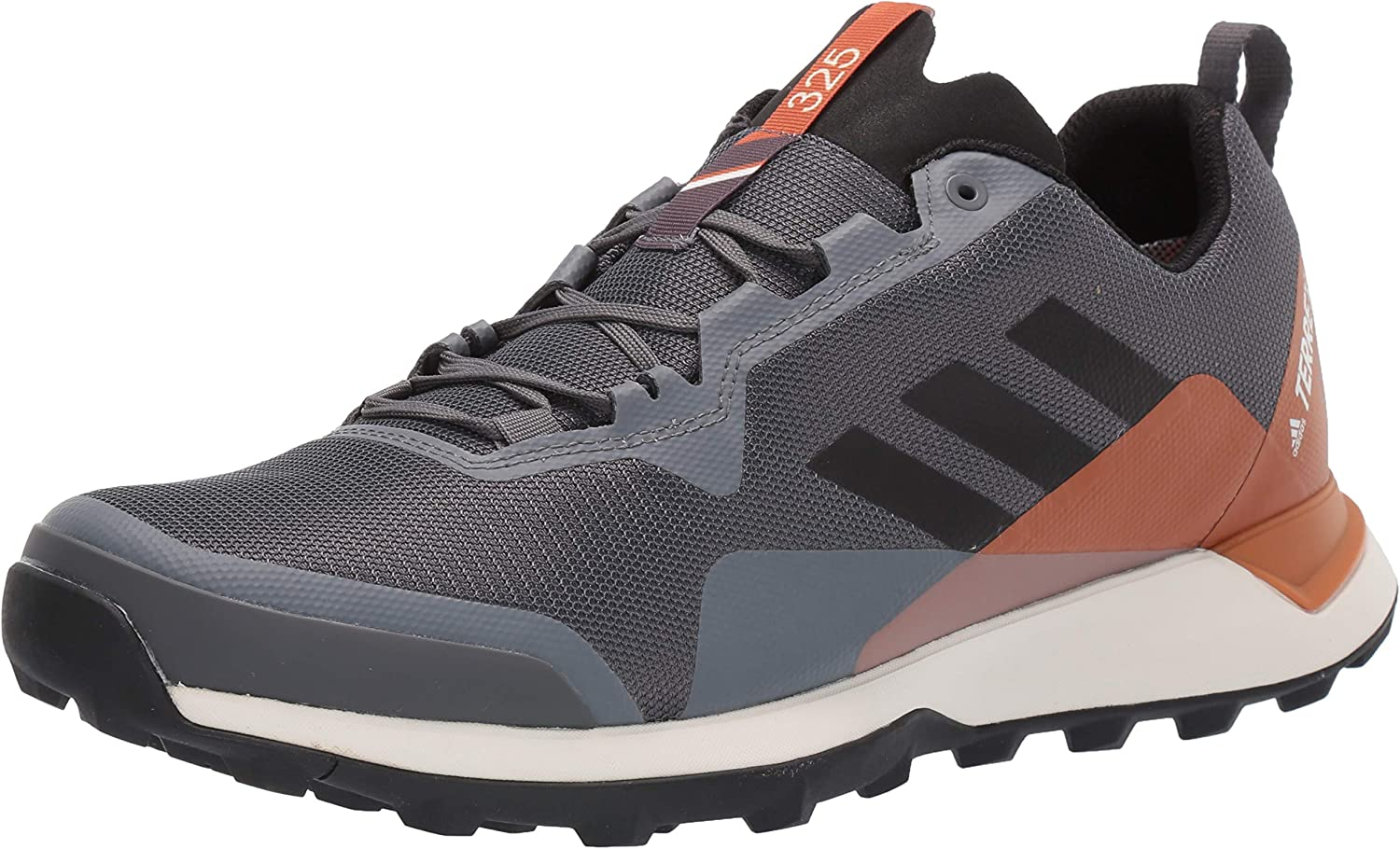 adidas outdoor Men's Terrex CMTK GTX Trail Running Shoe, Grey Five/Black/TECH Copper 6.5 D US
