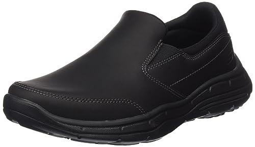 Glides-Calculous, Zapatillas de Entrenamiento para Hombre, Negro (Black), 44 EU Skechers