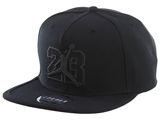 b7e49c8af375 Jordan AJ 13 Cap Mens Hats 835595-010 - Black Black  Amazon.ca ...
