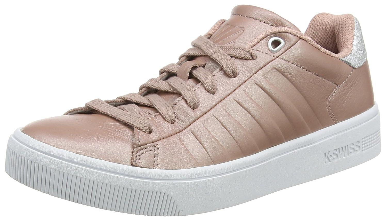 K-Swiss Women's Court Frasco Sneaker B01MRBSYLZ 9 B(M) US|Rose/Silver/White