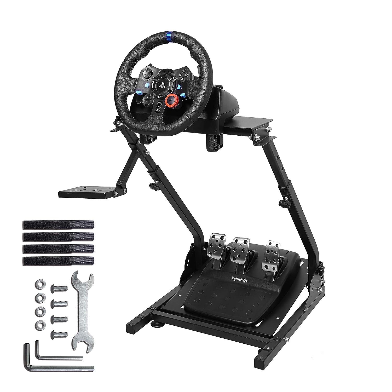 e75d239f2f2 Amazon.com: Marada G920 Racing Wheel Stand for G27,G25, G29 and G920 Gaming Racing  Simulator Wheel Stand Racing Wheel Pro Stand Wheel and Pedals Not ...