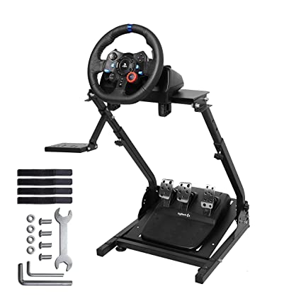 Amazon.com: Marada G920 Racing Wheel Stand for G27,G25, G29 and G920 Gaming Racing Simulator Wheel Stand Racing Wheel Pro Stand Wheel and Pedals Not ...