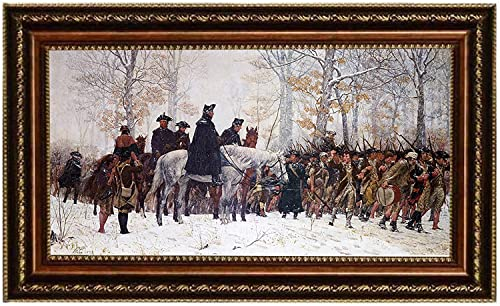 Eliteart-The March to Valley Forge George Washington and The Veterans of his Army