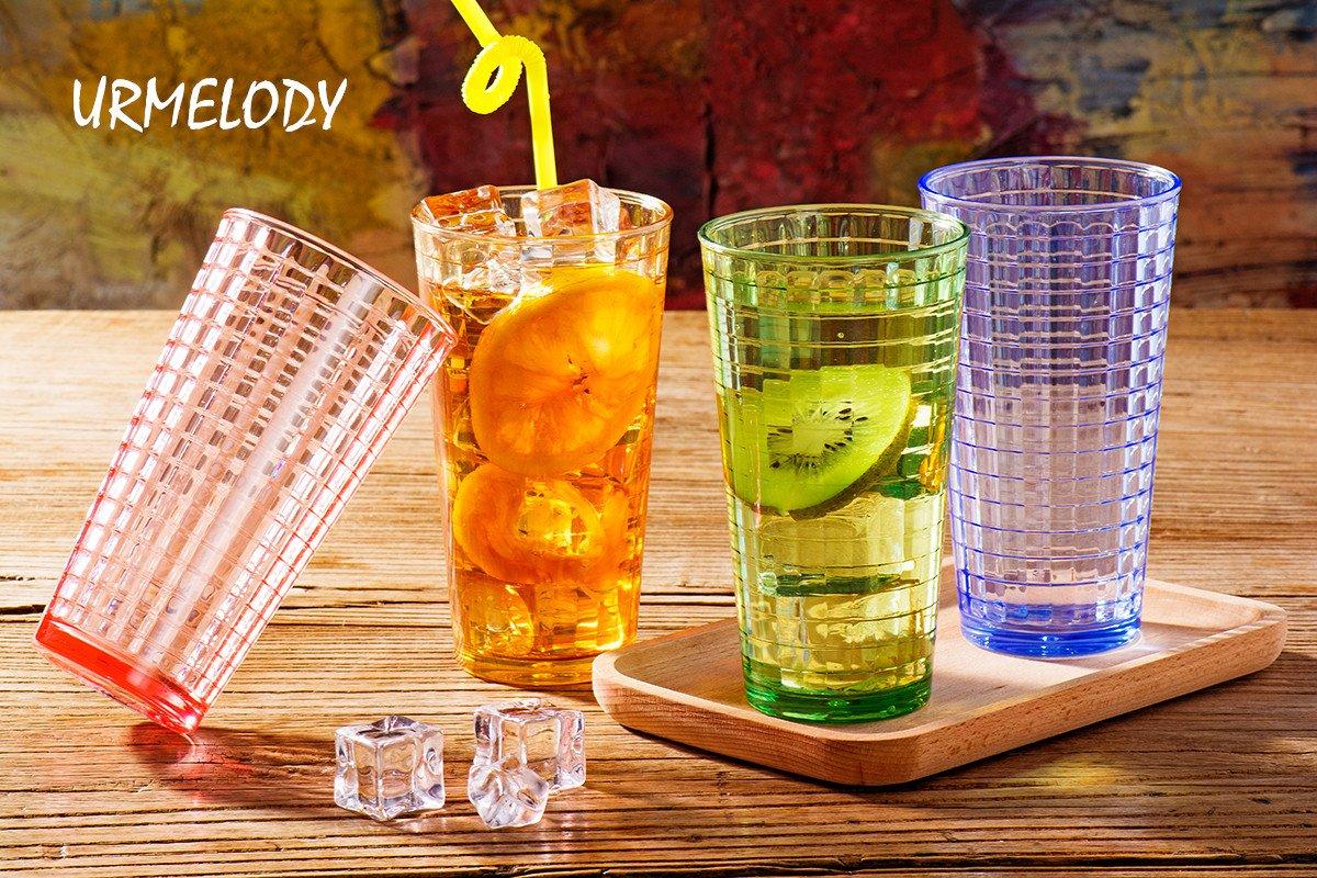 Juego De Vasos De Plastico Acrilico Para Bebidas Vasos De Vidrio