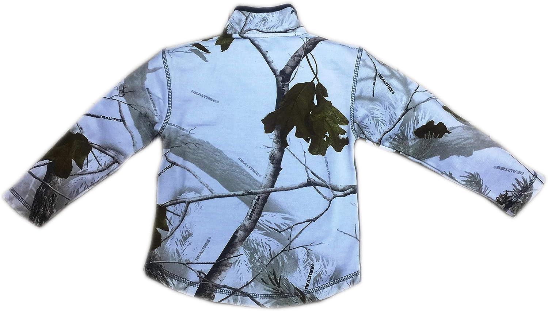 Realtree Toddler Quarter Zip Sweater