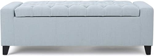 Christopher Knight Home Hikaru Fabric Storage Ottoman