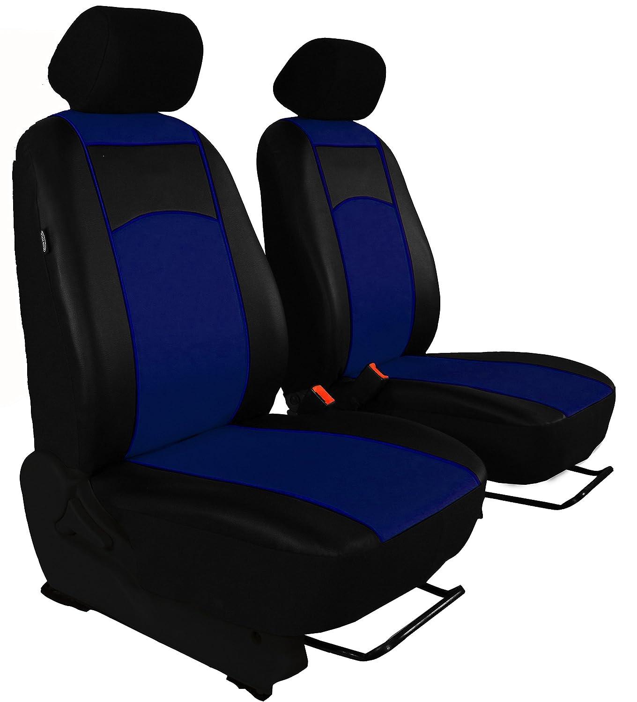 POK-TER-BUS Sitzbezug Maß Bus 1 + 1 Sitzer Kunstleder 7 Farben für Movano II