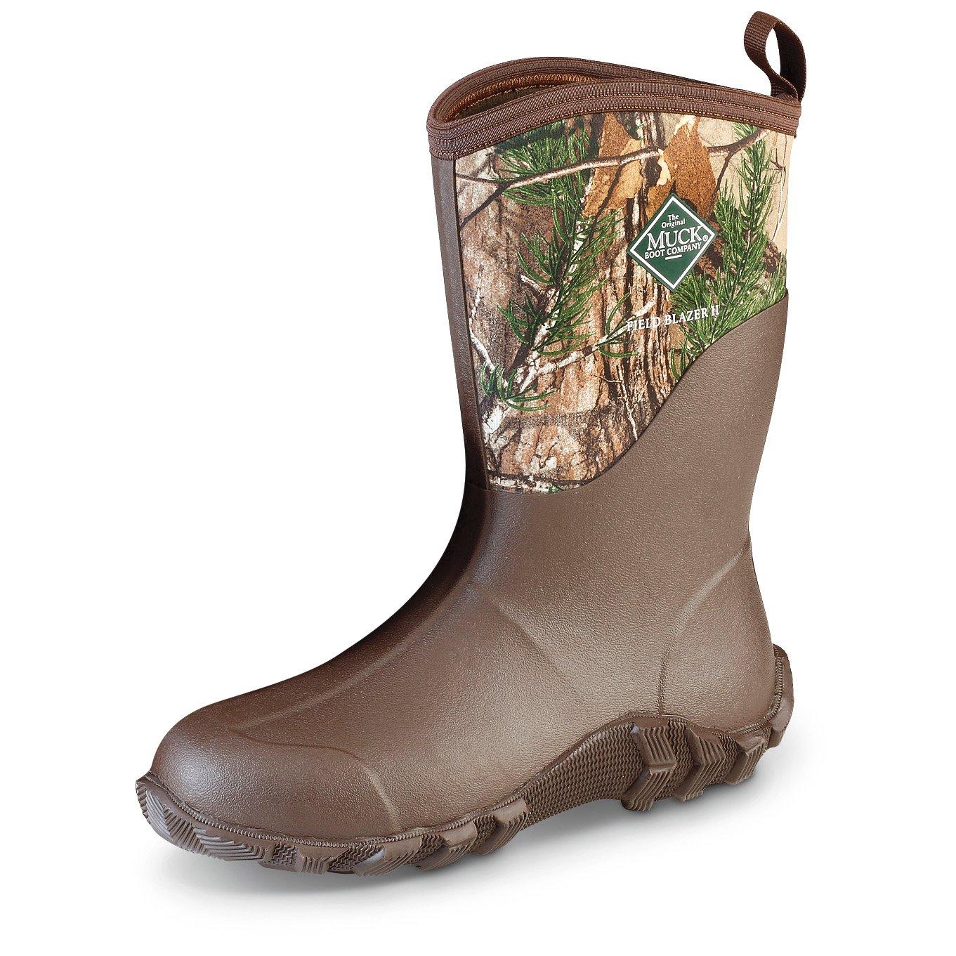Muck Boot Men's Fieldblazer 2 Mid Calf Boot, Realtree Extra, 12 Regular US by Muck Boot