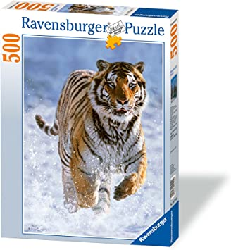 Ravensburger Tiger in Winter Jigsaw Puzzle (500 Pieces)