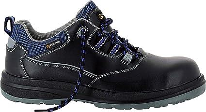 Foxter Chaussures De Securite Mixte Hommes Et Femmes Basses Respirantes Impermeable Sans Metal Cuir Noir S3 Src Amazon Fr Bricolage