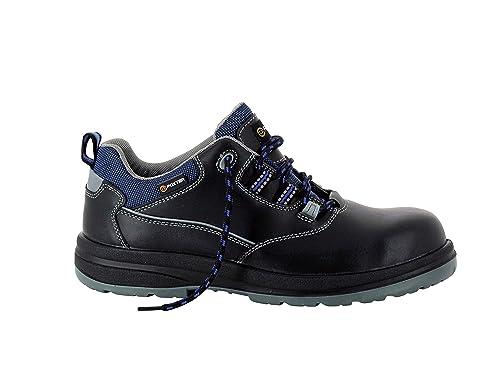 Foxter Zapatos de Seguridad Bajos Mustang - Ligeras - Piel Flor Llena - Hombre/Mixta - S3 SRC WRU: Amazon.es: Zapatos y complementos