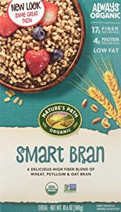 Nature's Path, Smart Bran Cereal, Organic, 10.6 Ounce (Pack of 1)