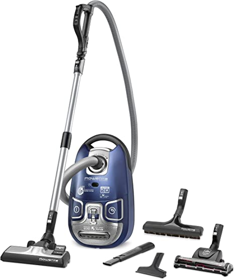 Rowenta Silence Force Extreme - Aspirador, color azul: Amazon.es: Hogar