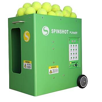Spinshot-Player Máquina lanzadora de pelotas de tenis con ...