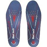 Biontech(バイオンテック) スパーライトインソール 電子レンジで温めると足と靴にピッタリのインソール 立ち仕事、登山、ウォーキング、足腰の負担軽減、衝撃吸収、足首の痛み軽減、抗菌作用、防臭 【熱成型インソール/足の形に合わせて成形できる中敷き】