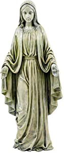 Blessed Mother Virgin Mary Lady of Grace Church Statue