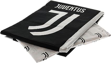 FC Juventus Parure de lit simple r/éversible 100 /% coton