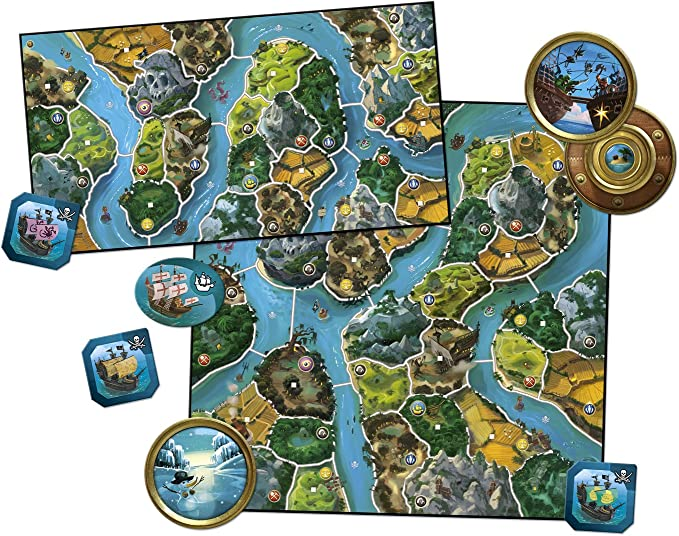 Days of Wonder- Small River World-Español, Color (DW790022): No Name: Amazon.es: Juguetes y juegos