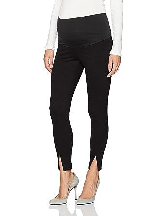 092a46d9dfa484 Maternal America Women's Princess Seam Belly Support Maternity Leggings,  Black, ...
