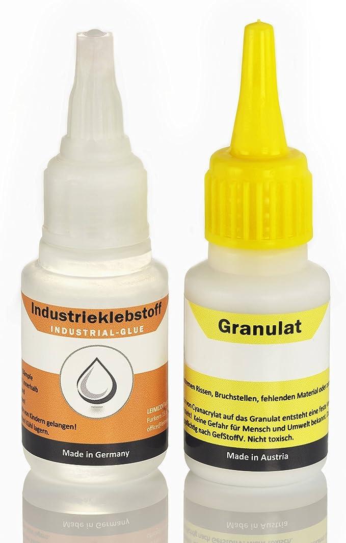 Adhesivo industrial extrafuerte con granulado, 100 % efectivo; la ...