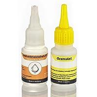 Adhesivo industrial extrafuerte con granulado, 100 % efectivo; la soldadura de pegamento; superpegamento para todo…