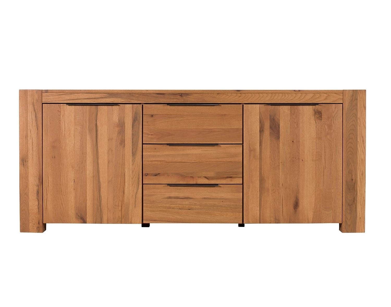 Aspen Furniture Range Sets 2 Drawer Large Side Board 2 Door
