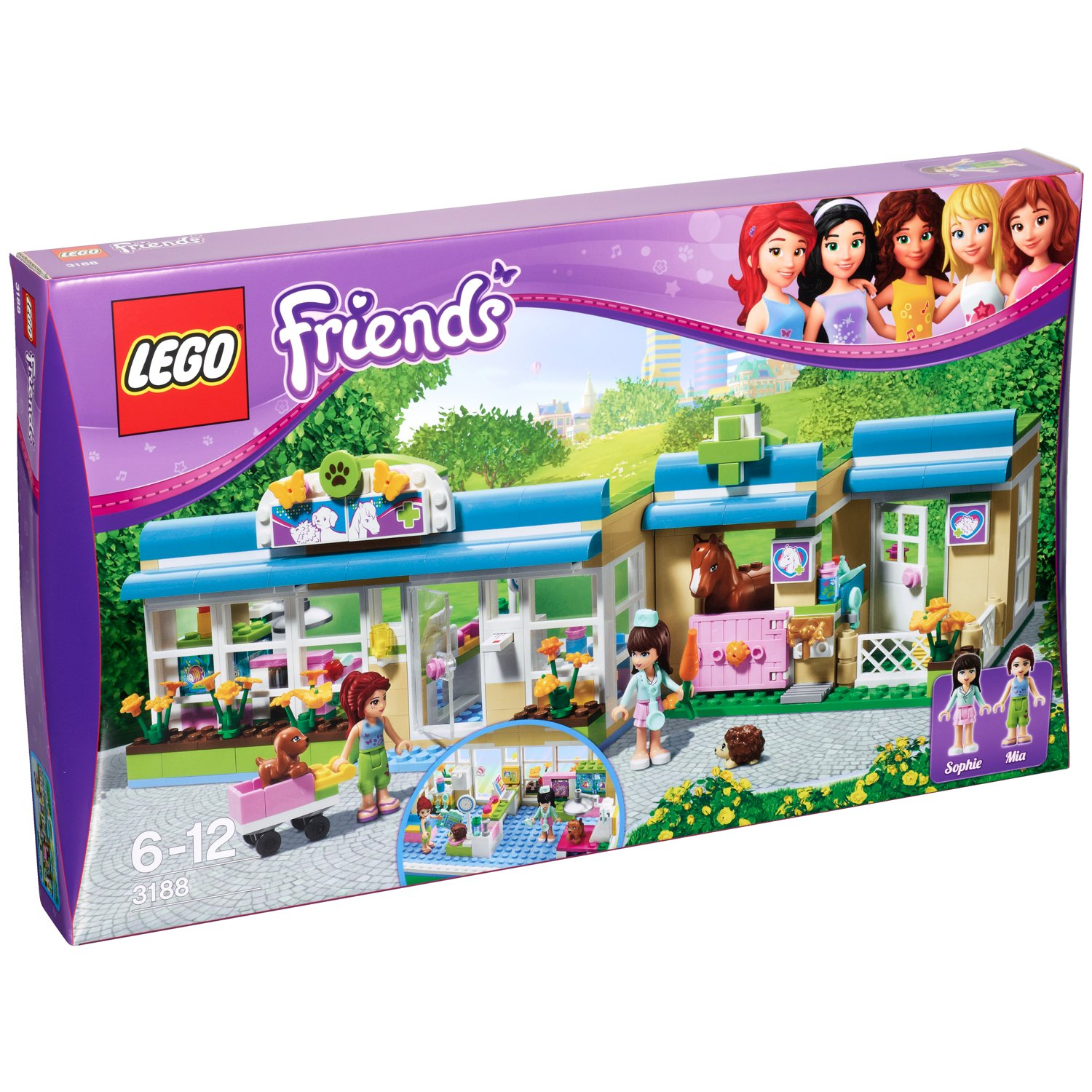 Souvent LEGO Friends - 3188 - Jeu de Construction - La Clinique  OR19