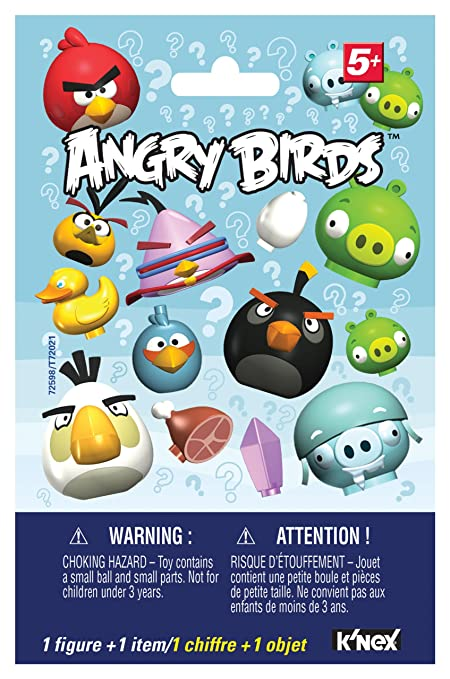4f370456b Amazon.com: K'NEX Angry Birds Mystery Figures: Toys & Games