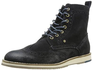 8be20c84bd4e0a Tommy Hilfiger Mens ARTHUR 2B Desert Boots Blue Blau (MIDNIGHT 403) Size   41  Amazon.co.uk  Shoes   Bags