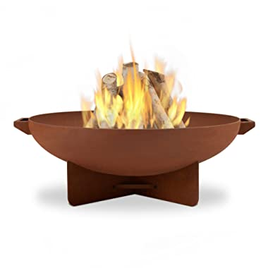 Real Flame 958-RST Anson Fire Bowl, Rust